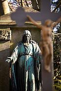 Europa, Deutschland, Koeln, alte Grabstaette auf dem Melatenfriedhof.<br /><br />Europe, Germany, Cologne, old grave at the Melaten cemetery.