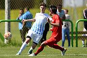 30.04.2017; Zuerich; Fussball FCZ Academy - FC Zuerich U17 - Grasshopper Club Rapperswil U17; Kushtrim Kasumaj (Zuerich) (Steffen Schmidt/freshfocus)