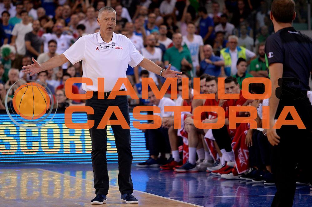 DESCRIZIONE: Torino FIBA Olympic Qualifying Tournament Italia - Croazia<br /> GIOCATORE: Aleksandar Petrovic<br /> CATEGORIA: Nazionale Italiana Italia Maschile Senior<br /> GARA: FIBA Olympic Qualifying Tournament Italia - Croazia<br /> DATA: 05/07/2016<br /> AUTORE: Agenzia Ciamillo-Castoria