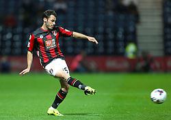 Adam Smith of Bournemouth - Mandatory byline: Matt McNulty/JMP - 07966386802 - 22/09/2015 - FOOTBALL - Deepdale Stadium -Preston,England - Preston North End v Bournemouth - Capital One Cup - Third Round