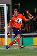 Luke Wilkinson of Luton Town during the Pre Season Friendly match at Top Field, Hitchin<br /> Picture by David Horn/Focus Images Ltd +44 7545 970036<br /> 17/07/2014