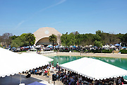 Main Event Stage at Soka University During the 18th Annual International Festival