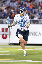10 April 2010: North Carolina Tar Heels midfielder Cryder DiPietro (22) during a 7-5 loss to the Virginia Cavaliers at the New Meadowlands Stadium in the Meadowlands, NJ.
