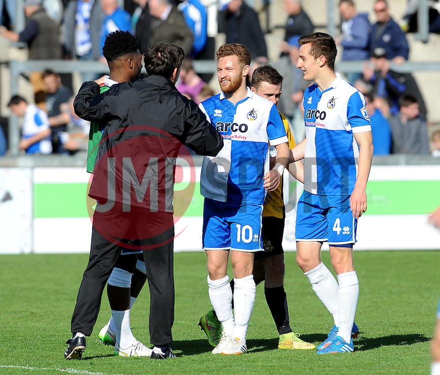 - Photo mandatory by-line: Neil Brookman/JMP - Mobile: 07966 386802 - 11/04/2015 - SPORT - Football - Bristol - Memorial Stadium - Bristol Rovers v Southport - Vanarama Football Conference
