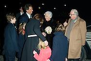 ROI ALBERT II  REINE PAOLA - Le Roi Albert II et la Reine Paola lors du concert d'inauguration de la nouvelle aile de la Chapelle Musicale Reine Elisabeth. Belgique, Waterloo, le 27 janvier 2015.<br /> King Albert II and Queen Paola during the opening concert of the new wing of the Queen Elisabeth Music Chapel. Belgium, Waterloo, January 27, 2015.