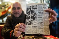 Portrait of Toni Tislar, former ice hockey player, on November 30, 2018 in Bled, Slovenia. Photo by Grega Valancic