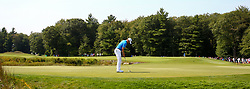 September 4, 2017 - Norton, Massachusetts, United States - Jordan Spieth putts the 9th green during the final round of the Dell Technologies Championship at TPC Boston. (Credit Image: © Debby Wong via ZUMA Wire)