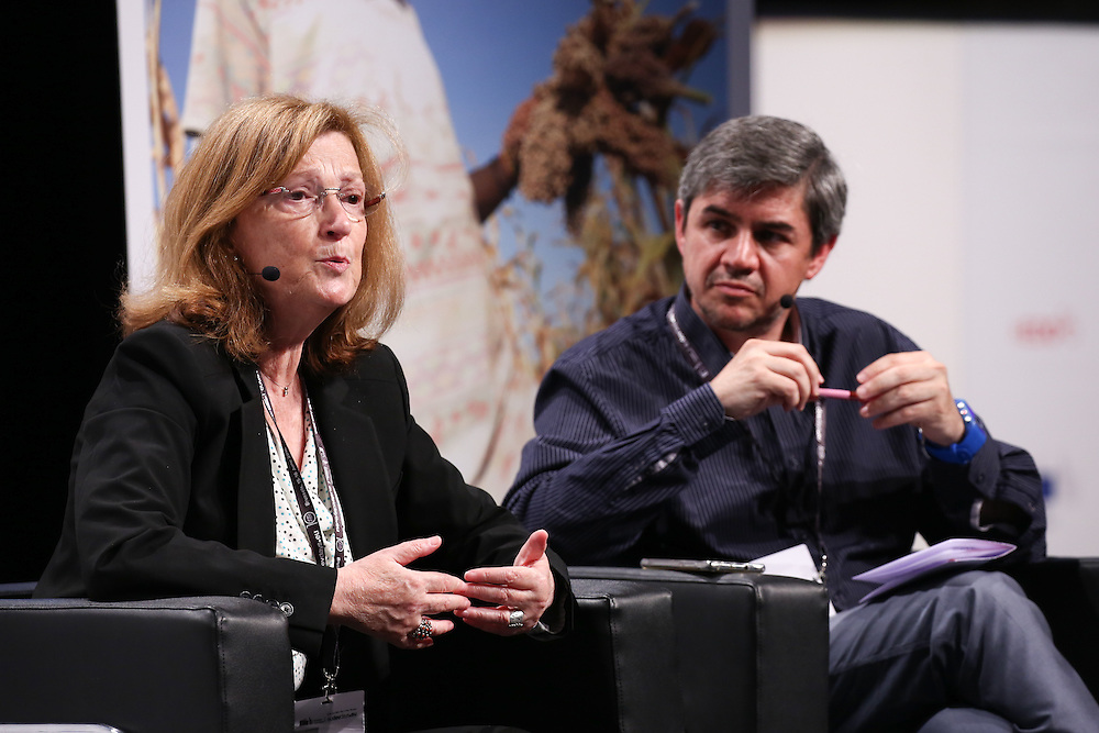 20160616 - Brussels , Belgium - 2016 June 16th - European Development Days - An economy for the 1 Percent - Nora Lustig , Professor of Latin American Economics , Tulane University and Jaime Atienza Campaigns and Policy Director Oxfam Intermon  © European Union