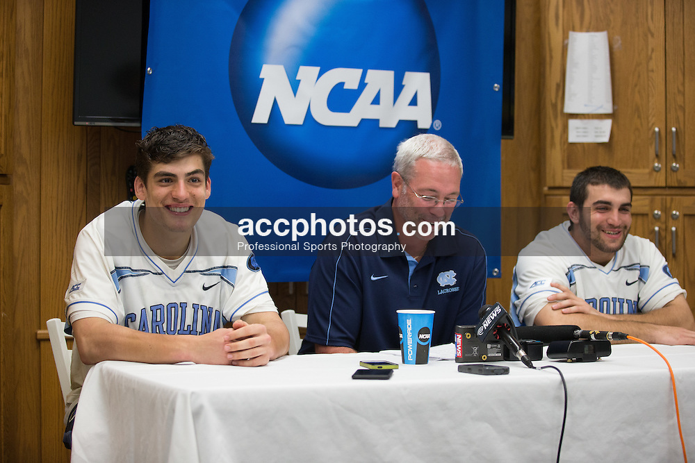 CHAPEL HILL, NC - MAY 10: Luke Goldstock #1 of the North Carolina Tar Heels during a game against the Colgate Raiders on May 10, 2015 at Fetzer Field in Chapel Hill, North Carolina. North Carolina won 19-12. (Photo by Peyton Williams/Getty Images) *** Local Caption *** Luke Goldstock