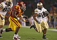 September 26, 2009: Army fullback Kingsley Ehie (27) tries to get around the end during the first half of the Iowa State Cyclones' 31-10 win over the Army Black Knights at Jack Trice Stadium in Ames, Iowa on September 26, 2009.