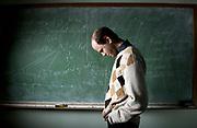 March 10, 2014- Northeastern University math professor Ivan Loseu inside his office.
