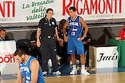 DESCRIZIONE : Bormio Torneo Internazionale Gianatti Finale Italia Croazia <br /> GIOCATORE : Carlo Recalcati, Massimo Bulleri<br /> SQUADRA : Nazionale Italia Uomini <br /> EVENTO : Bormio Torneo Internazionale Gianatti <br /> GARA : Italia Croazia<br /> DATA : 04/08/2007 <br /> CATEGORIA : Ritratto<br /> SPORT : Pallacanestro <br /> AUTORE : Agenzia Ciamillo-Castoria/G.Cottini<br /> Galleria : Fip Nazionali 2007 <br /> Fotonotizia : Bormio Torneo Internazionale Gianatti Finale Italia Croazia<br /> Predefinita :