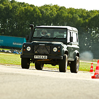 2003 Land Rover Defender 90, The 2009 World's Fastest Land Rover competition, Bruntingthorpe test track