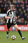 Notts County forward Jonathan Stead (30) during the FA Cup 4th round match between Notts County and Swansea City at Meadow Lane, Nottingham, England on 27 January 2018. Photo by Jon Hobley.