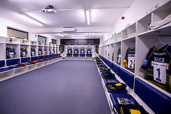 Worcester Warriors changing room ahead of the Gallagher Premiership match with Harlequins - Mandatory by-line: Robbie Stephenson/JMP - 23/11/2018 - RUGBY - Sixways Stadium - Worcester, England - Worcester Warriors v Harlequins - Gallagher Premiership Rugby
