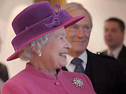Opening of Scottish Parliament  October 2004 .The new Scottish Parliament in Edinburgh was opened today by Her Majesty the Queen..HRH the Queen meets architects and builders with PO George Reid. .Picture courtesy of Scottish Parliament Corporate Body. .Further Information from Scottish Parliament Media Affairs Office..Tel:0131 348 5000.Scottish Parliament,.Edinburgh.EH99 1SP.www.scottish.parliament.uk.Scottish Parliamentary Corporate Body
