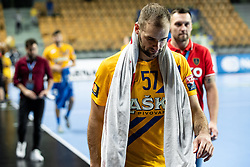 Patrik Leban of RK Celje Pivovarna Lasko during handball match between RK Celje Pivovarna Lasko (SLO) and of MOL Pick Szeged (HUN) in 9th Round of EHF Champions League 2019/20, on November 24, 2019 in Arena Zlatorog, Celje, Slovenia. Photo Grega Valancic / Sportida