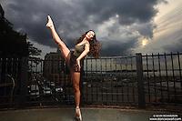 Dance As Art New York City Photography Project Brooklyn Heights Promenade Series with dancer Janna Davis