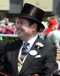 Deputy Private Secretary to HM The Queen EDWARD YOUNG at the 2nd day of the 2013 Royal Ascot Horseracing festival at Ascot Racecourse, Ascot, Berkshire on 19th June 2013.
