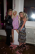 Kathy Richards and Brooke Hogan. Paris Hilton's Fragrance Launch Party at Il Bottaccio, Grosvenor Place. London. 16 May 2005. . ONE TIME USE ONLY - DO NOT ARCHIVE  © Copyright Photograph by Dafydd Jones 66 Stockwell Park Rd. London SW9 0DA Tel 020 7733 0108 www.dafjones.com