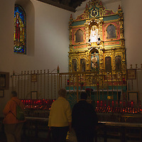 Nuestra Senora de la Paz (Our Lady of Peace), is the oldest Madonna statue in the United States.