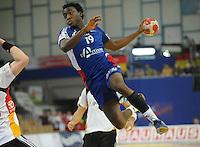 Handball EM Herren 2010 Hauptrunde Deutschland - Frankreich 24.01.2010 Luc Abalo (FRA)