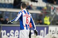 Voetbal Heerenveen Eredivisie 2014-2015 SC Heerenveen - Vitesse: L-R