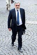 2013/05/07 Roma, funerali di Giulio Andreotti. Nella foto Mauro Cutrufo..Rome, funerals of Giulio Andreotti. In the picture Mauro Cutrufo - © PIERPAOLO SCAVUZZO