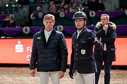 Ehning Marcus, Jung Michael<br /> Leipzig - Partner Pferd 2019<br /> © Hippo Foto - Stefan Lafrentz