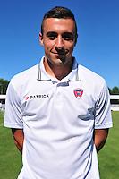 Cedric Goncalves - 07.08.2015 - Evian Thonon / Clermont - 2eme journee de Ligue 2<br /> Photo : Philippe Lebrech / Icon Sport