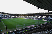 General Stadium view during the EFL Sky Bet Championship match between Derby County and Millwall at the Pride Park, Derby, England on 14 December 2019.