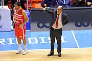 Daniele Cavaliero Attilio Caja<br /> Enel New Basket Brindisi - Openjobmetis Pallacanestro Varese<br /> Lega Basket Serie A 2016/2017<br /> Brindisi 12/02/2017<br /> Foto Ciamillo-Castoria