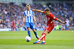 Jamie Paterson of Bristol City shoots - Mandatory by-line: Jason Brown/JMP - 29/04/2017 - FOOTBALL - Amex Stadium - Brighton, England - Brighton and Hove Albion v Bristol City - Sky Bet Championship