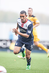 Falkirk's Phil Roberts.<br /> Falkirk 1 v 2 Dumbarton, Scottish Championship game played today at the Falkirk Stadium.<br /> &copy;Michael Schofield.