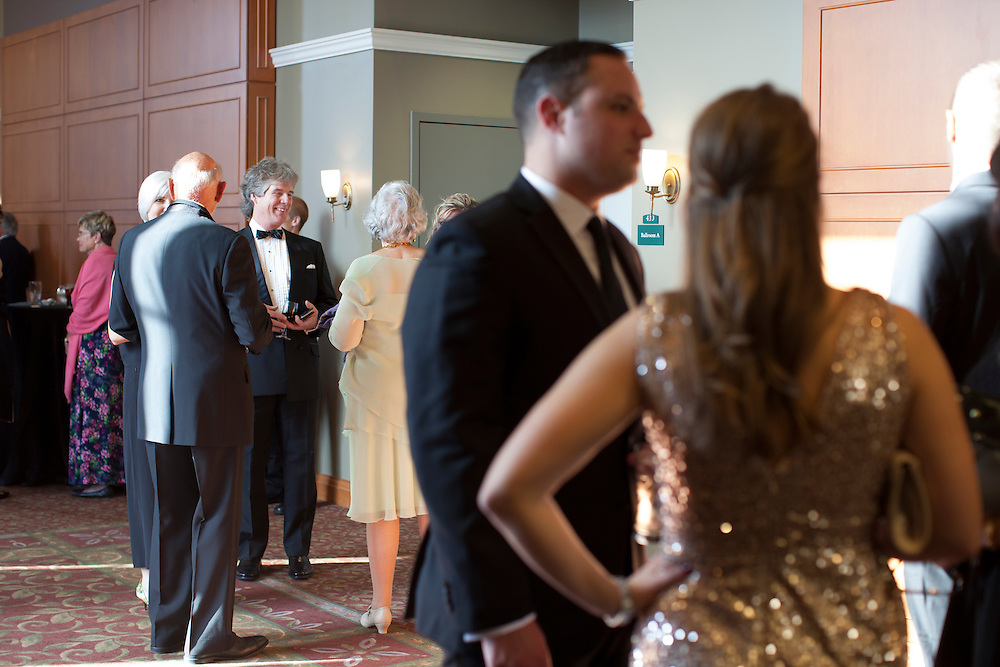 People mingle before the Promise Lives Campaign Celebration Gala on Friday, Sept. 11, 2015. Photo by Kaitlin Owens