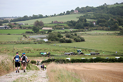 UK ENGLAND 29JUL17 - Teams arrive at checkpoint 4 near Houghton during the Trailwalker 2017 challenge across the South Downs, England.<br /> <br /> jre/Photo by Jiri Rezac<br /> <br /> &copy; Jiri Rezac 2017