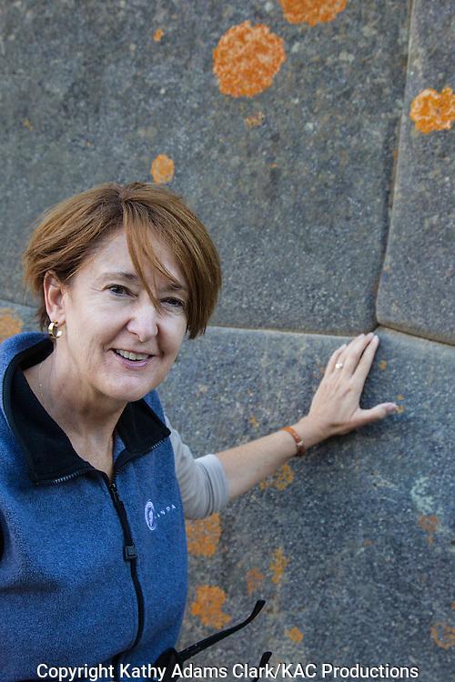 Inca stone walls, Kathy Adams Clark; Cusco, Peru;