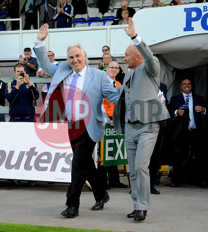 Gerry Francis and Ian Holloway - Mandatory by-line: Neil Brookman/JMP - 07966386802 - 31/07/2015 - SPORT - FOOTBALL - Bristol,England - Memorial Stadium - Bristol Rovers v West Brom - Pre-Season Friendly