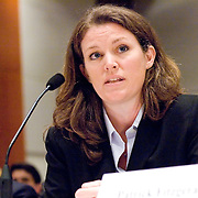 """Ms. Mary Deborah Doran, Special Agent, FBI. Panel: Al Qaeda. The 9/11 Commission's 12th public hearing on """"The 9/11 Plot"""" and """"National Crisis Management"""" was held June 16-17, 2004, in Washington, DC."""