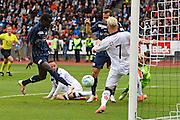 29.05.2016; Zuerich; Fussball Schweizer Cup Final - FC Lugano - FC Zuerich;<br />Sangone Sarr (Zuerich) erzielt das Tor zum 0:1<br /> (Urs Lindt/freshfocus)