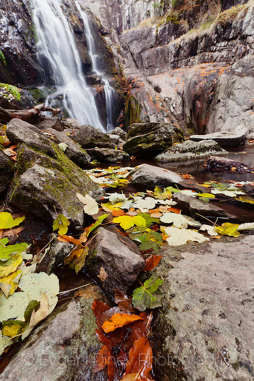 Waterfall Canyon in autumn