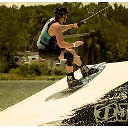 Cable Skiing at Cable Ski Logan