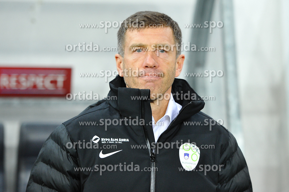 Srecko Katanec, head coach of Slovenia during football match between NationalTeams of Slovenia and San Marino in Round 5 of EURO 2016 Qualifications, on March 27, 2015 in SRC Stozice, Ljubljana, Slovenia. Photo by Mario Horvat / Sportida / Sportida