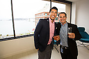 DocuSign EBC grand opening event at DocuSign in San Francisco, California, on September 15, 2015. (Stan Olszewski/SOSKIphoto)