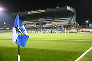 The Memorial Stadium, home of Bristol Rovers during the The FA Youth Cup match between Bristol Rovers and Forest Green Rovers at the Memorial Stadium, Bristol, England on 2 November 2017. Photo by Shane Healey.