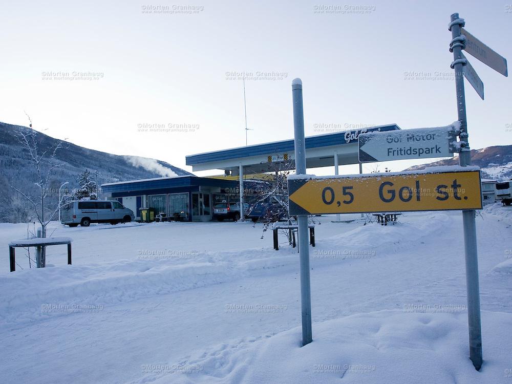 Gol taxisentral..Temperatur: 23 kuldegrader