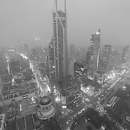 China, Shanghai, People square, radisson hotel tower