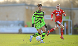 Odin Bailey of Forest Green Rovers in action- Mandatory by-line: Nizaam Jones/JMP - 08/02/2020 - FOOTBALL - New Lawn Stadium - Nailsworth, England - Forest Green Rovers v Walsall - Sky Bet League Two