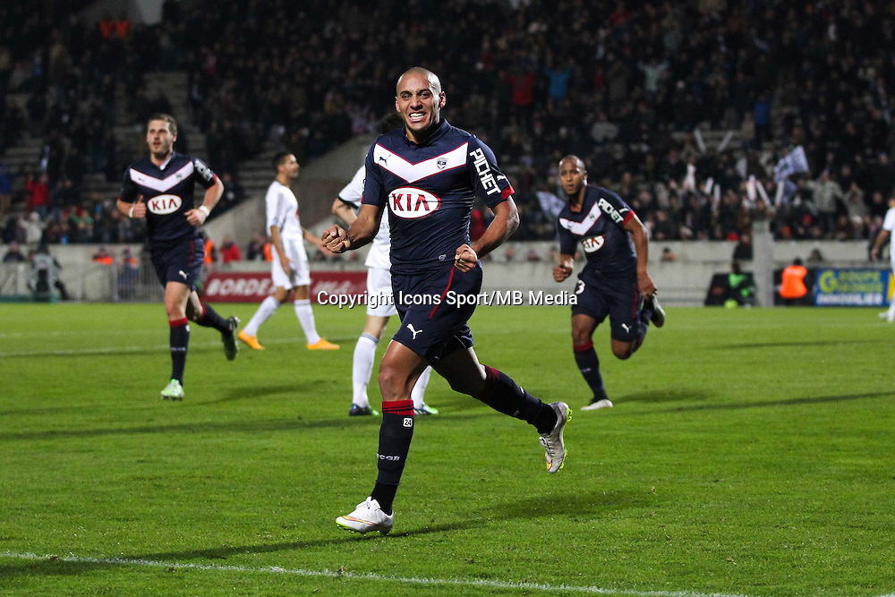 Joie Wahbi Khazri - 06.12.2014 - Bordeaux / Lorient - 17eme journee de Ligue 1 -<br />