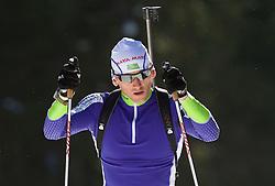Jakov Fak at practice session during Media day of Slovenian biathlon team on November 12, 2010 at Rudno polje, Pokljuka, Slovenia. (Photo By Vid Ponikvar / Sportida.com)